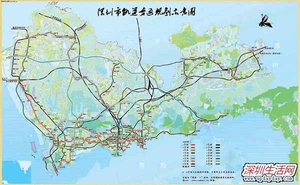 南京地铁4号线线路图 深圳地铁5号线时间图片